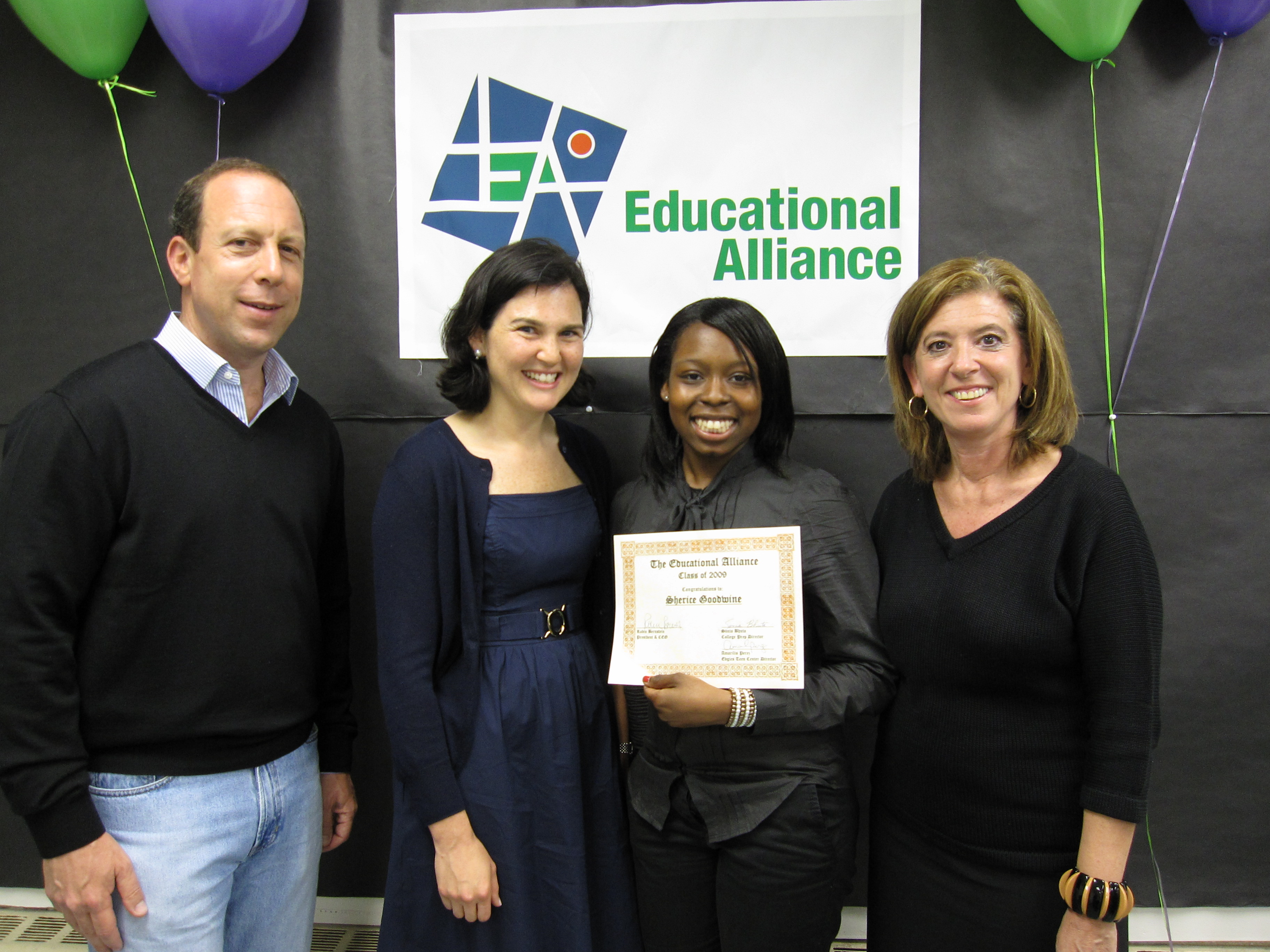 teens receive prestigious scholarships the lo down news from photo 2 allan morrow scholarship sherice