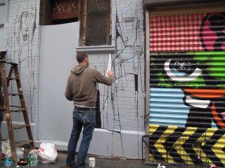 Damon painting for Ramiken